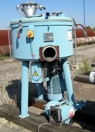 400 Litre Papenmeier Model KUM-400 Stainless Steel Mixer
