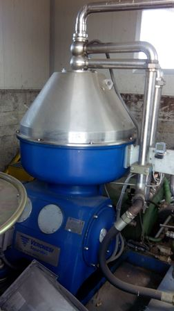 Veronesi Type AT 1600 SMO 122 SSC 50F N WP Stainless Steel Separator