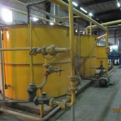 Used Anderson Expeller Soft Oil Seed Extraction Plant