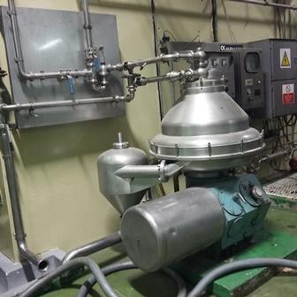 Alfa Laval Model BRPX 317 SFV-34C/4236-19 Stainless Steel Clarifier Centrifuge