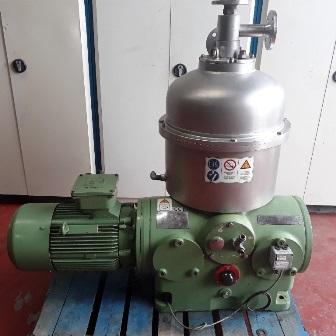 Westfalia Model RTA 50-01-576 Separator