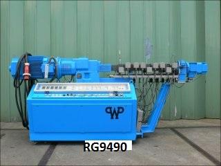 25mm Werner & Pfleiderer Twin Screw Extruder