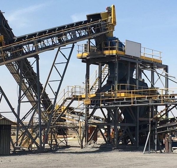 Used 120 Tons Per Hour Crush Plant