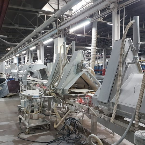 Used Ceramic Tile Production Line with Capacity 7000 to 8000 m2 / day