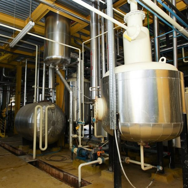 Edible Oil Refinery with Capacity 100 tons/day (30,000 tons/year)