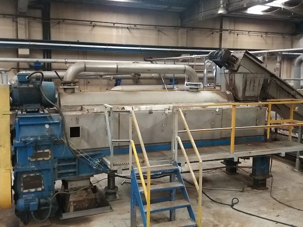 Used Stord Bartz MS49 Twin Screw Press