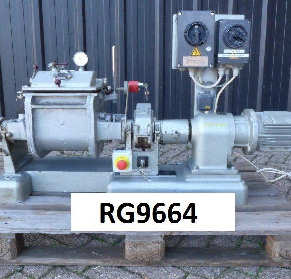 8.00 Liter Werner & Pfleiderer Laboratory Stainless Steel Z-Blade Mixer