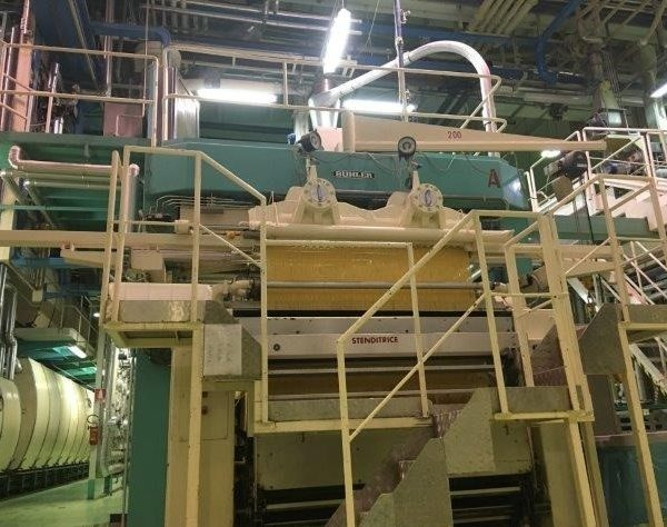 Pasta Spaghetti Plant with Capacity 1300 kg/hour by Buhler