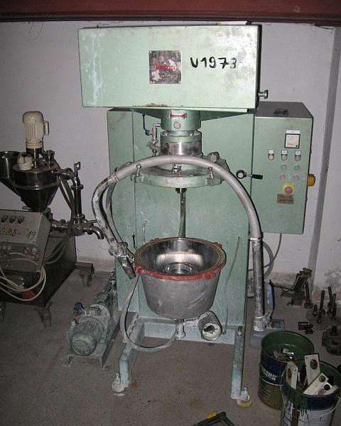 1 Gal. Fryma Model MSM-32 Co-Ball Mill