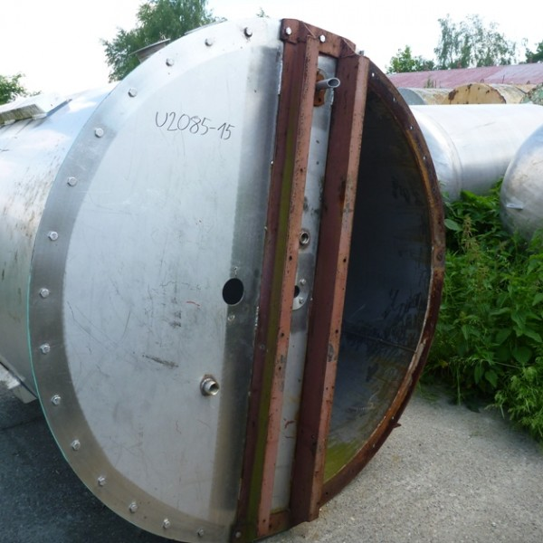 3000 Litres Stainless Steel Storage Vessel