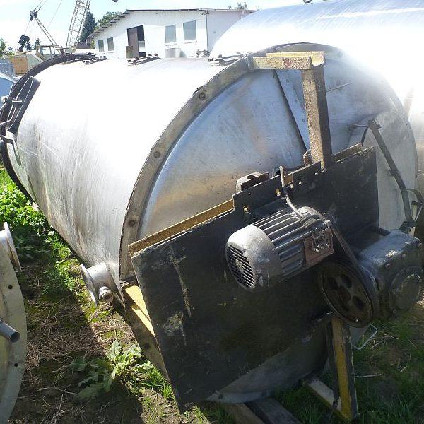 5500 Liters Stainless Steel Vertical Casein Washing Tank