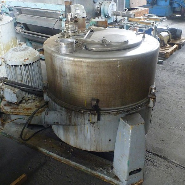 39″ Lampart Stainless Steel Perforated Basket Centrifuge