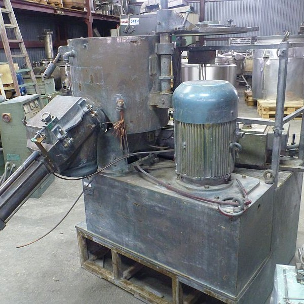 100 Litre TK Fielder Model TR100 Stainless Steel Hi-Intensive Mixer