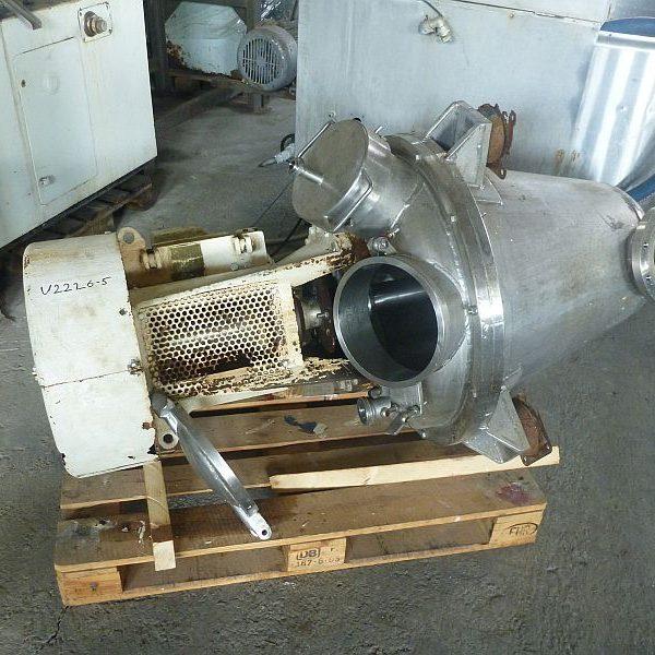 150 Litre Gunter Papenmeier Stainless Steel Conical Mixer