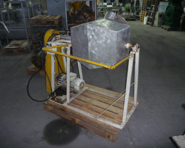 50 l total volume stainless steel tumbling mixer