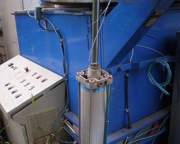OIL BATH 3000 L X INLET DIAMETER 1200 MM