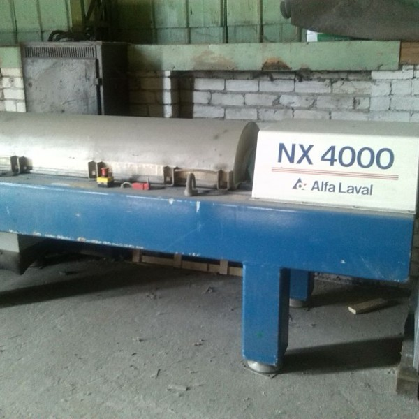 Alfa Laval AVNX4005 Stainless Steel Decanter Centrifuge