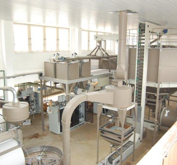 Coffee Roasting, Milling, and Packing Line, 800 Kg/Hr