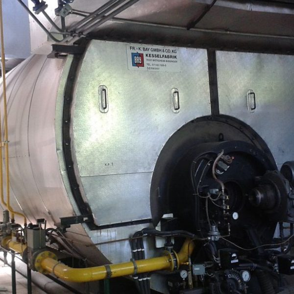 Boiler Room with Two Boilers, Total 32 Tons Per Hour