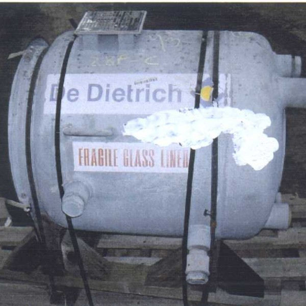 30 Gallon 150 FV Internal, 115/100 Jacket Dedietrich Reactor Body