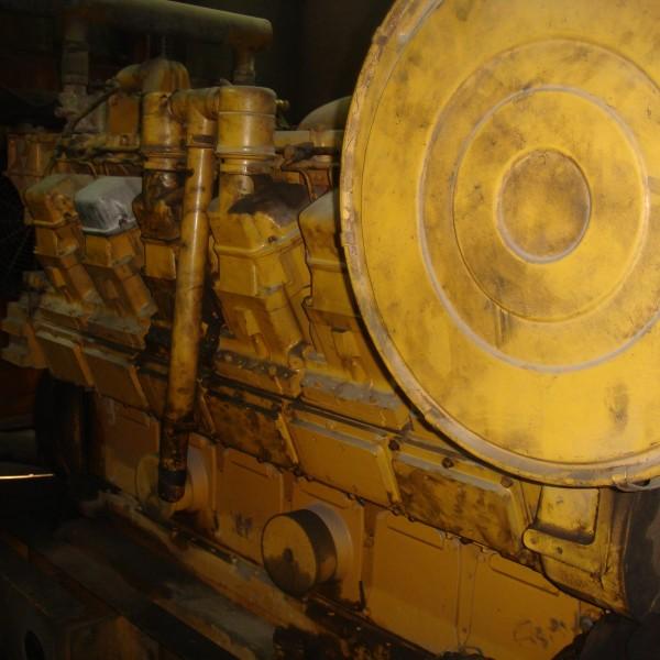 1020 KW   400V 50HZ CATERPILLAR D3512