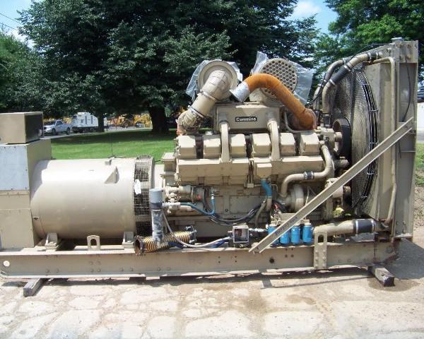 750 kW 480 V 60 Hz Cummins Diesel Generator Set