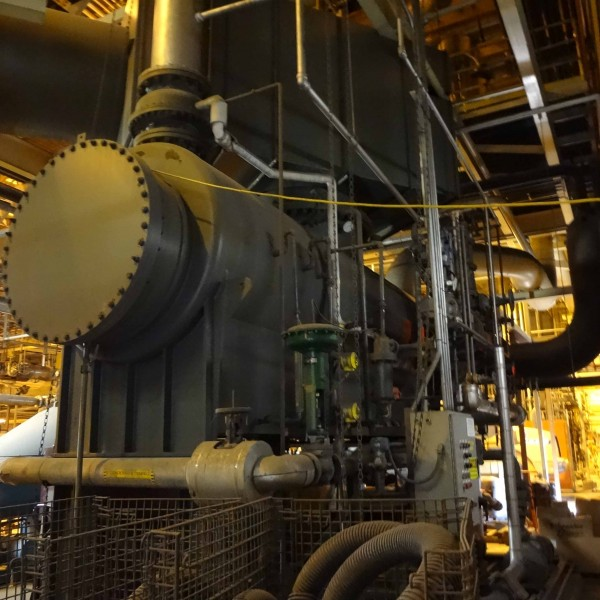 9500 kW 850 PSI Murray (Dresser-Rand) Steam Turbine