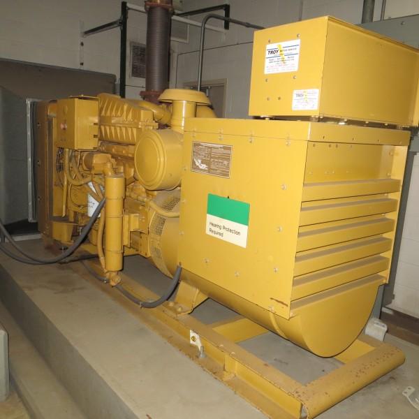 200 kW 480 V 60 Hz Caterpillar Diesel Generator