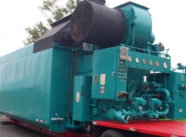 70,000#/Hour 400 PSI Nebraska Packaged Water Tube Boiler