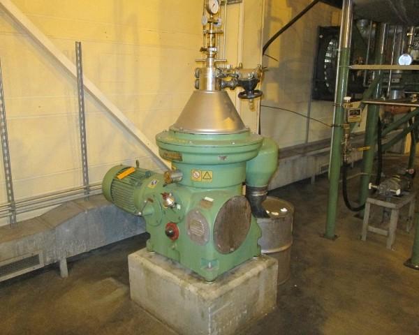 Westfalia Model WSC2501506 Separator Centrifuge
