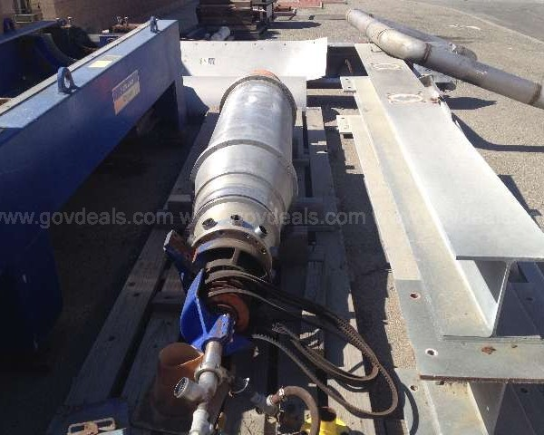 Alfa Laval ALDEC 506 Horizontal 17.72″ Diameter Stainless Steel Decanter Centrifuge