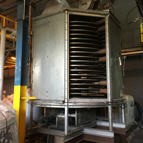 18 Tray Wyssmont Tray Dryer