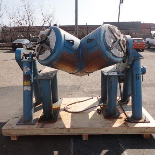 10 Cu.Ft. Patterson Kelley 304 Stainless Steel Twin Shell Blender