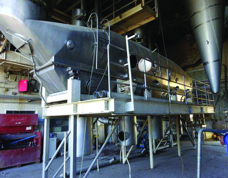 27′ X 20'6″ 304 Stainless Steel APV Anhydro Whey Spray Dryer System
