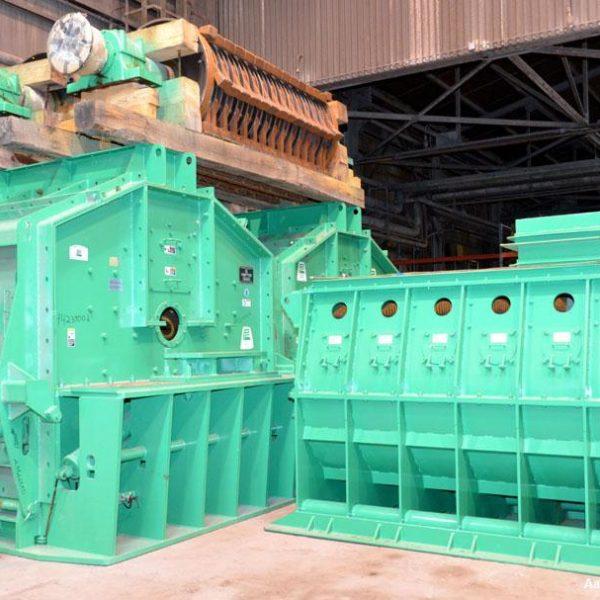 2500 HP Pennsylvania Coal Crusher Model SXCB-225 Carbon Steel Hammer Mill