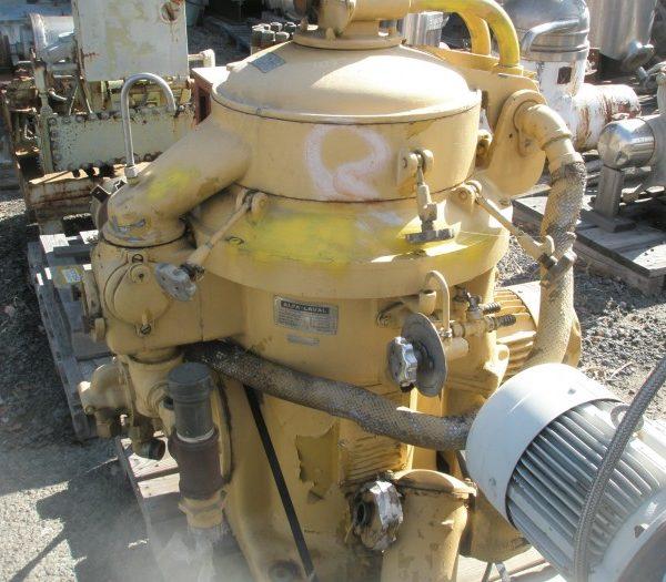 Alfa Laval Mdl MAPX-207-SGT-29 Automatic Desludging Disc Centrifuge