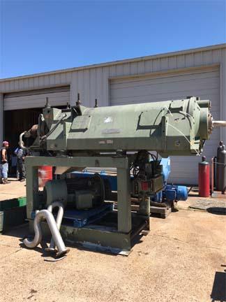 Westfalia CA505-01-12 510/300mm Bowl Dia Stainless Steel Decanter Centrifuge