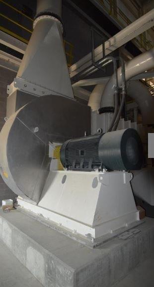 700 HP Williams 85″ Fluid Bed Roller Mill
