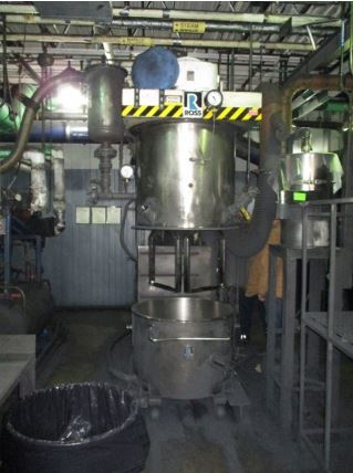75 Gallon Ross Stainless Steel Double Planetary Mixer