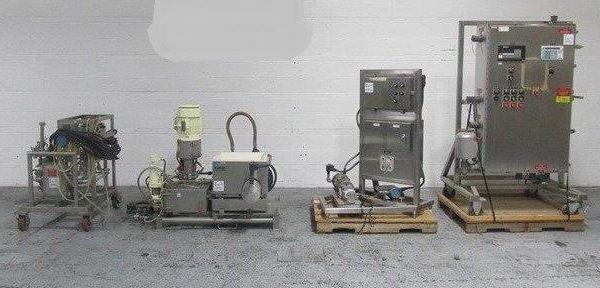 SCHUGI FX-100 SS FEEDER/PUMP CONTROLS CART