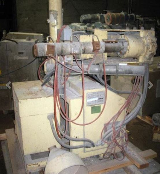 1″ Actual Single-Screw Extruder L/D 22:1 Air-Cooled