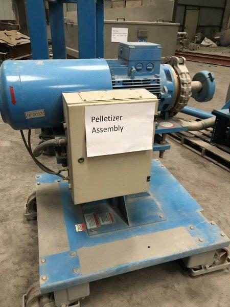 Gala Model PAK7 Underwater Pelletizing System