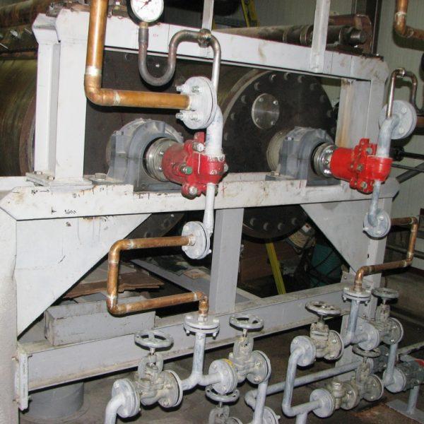 32″ X 78″ Romanian Made Double Drum Dryer Unused/New