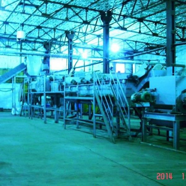 Plastic Materials Recycling  Plant