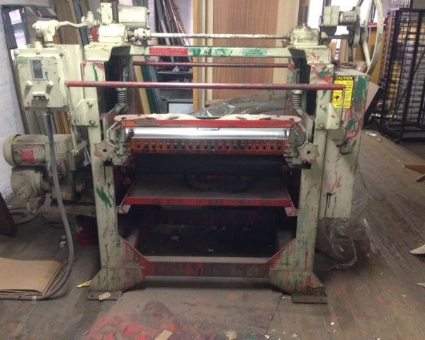 32″ Black Brothers Roll Coater
