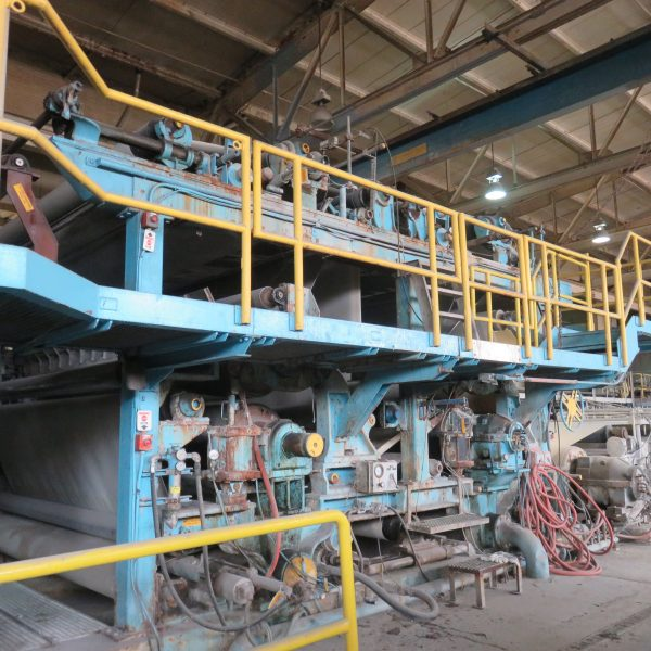150″ Wide Paper Machine