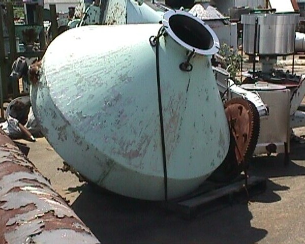 50 Cubic Foot Double Cone Blender