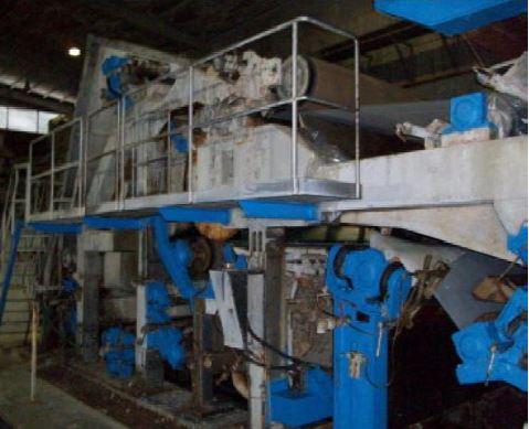 100″ (2.5M) Overmeccanica Tissue Machine